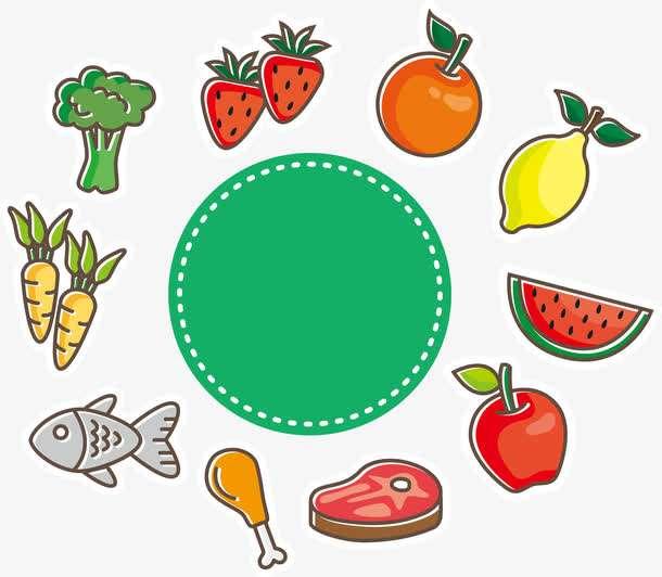 合理膳食  健康成长