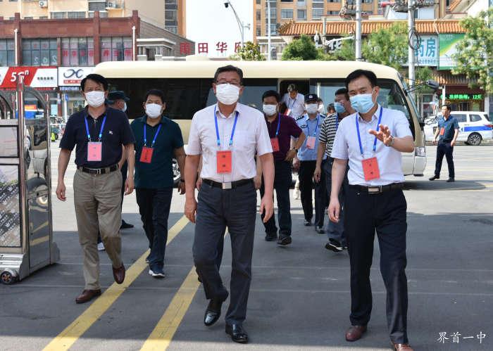 市委书记徐会东到界首一中巡视高考工作