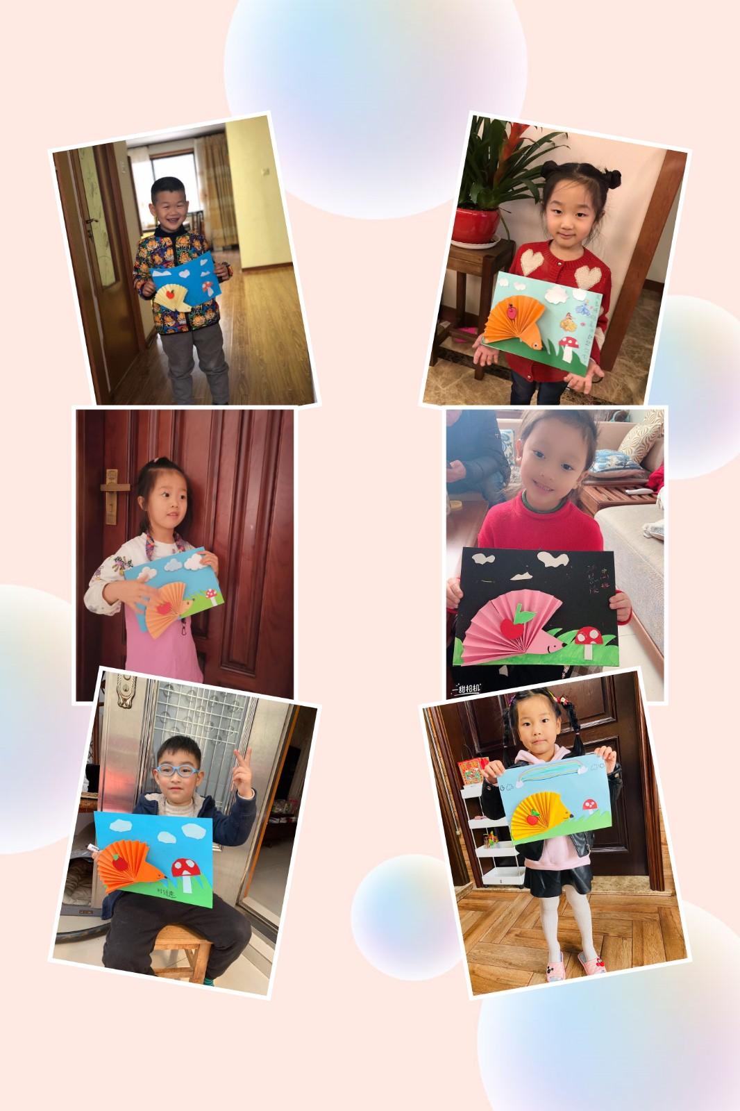 爱尼尔幼儿园停课不停学,幼儿居家学习成果展示(二)